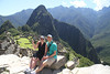 It's as cool at Machu Picchu as everyone says it is. And that was before we climbed Wayna Picchu (the peak right in the background)