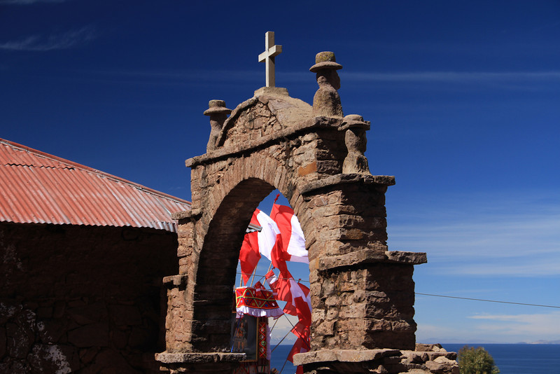 Of course there's a church here, the conquistadors spared no tract of land.