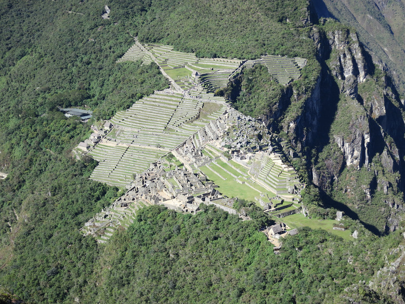 A nice overview of Machu Picchu