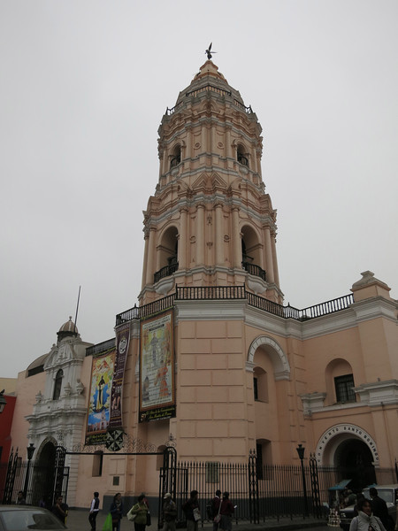 The bell tower at the Convent of Santo Domingo - we climbed alll the way to the top!