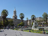 Parque Central. The gathering place for locals and tourists alike.