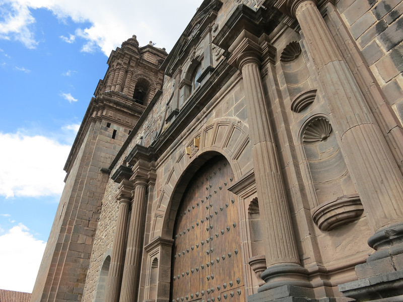 The Church of Santo Domingo in Cuzco.
