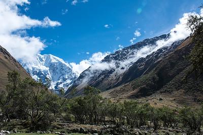 View of  Mt. Salkantay.