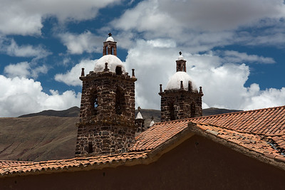 Bell towers on the Village Chapel.