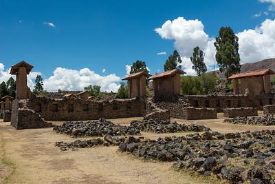 Temple of Wiracocoha. Raqchi (Racchi), Peru.