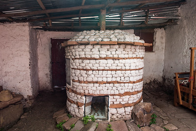 A working kiln.