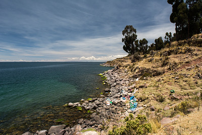A 3+ hour boat ride from Puno.