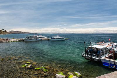 Boat landings.