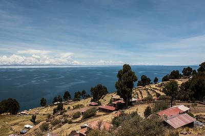 Taquile, Lake Titicaca - Peru.