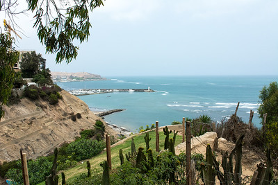 View back to Morro Solar Hill.