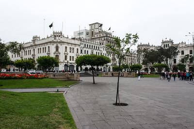 Plaza Mayor - Lima, Peru.