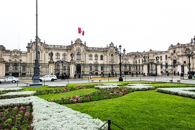The Presidential Palace.
