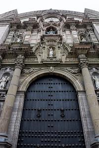 Ornate entrance.
