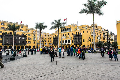 Plaza Mayor - Lima Peru.
