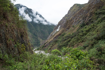 Santa Teresa -  Llactapata, Peru.