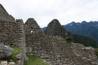 Machu Picchu - Inca City ruins. Aguas Calientes, Peru.