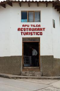 Apu Tilca Restaurant.