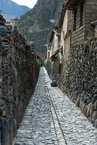 Residential walkway...