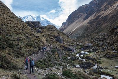 Heading to the Salkantay Pass.