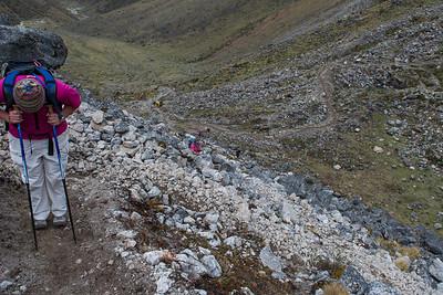 The Rio Blanca Valley - Vilcambamba Mountain Range, Peru.