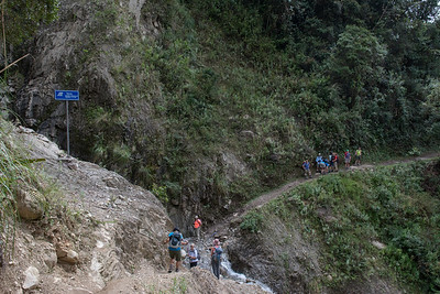 Waterfall crossing.