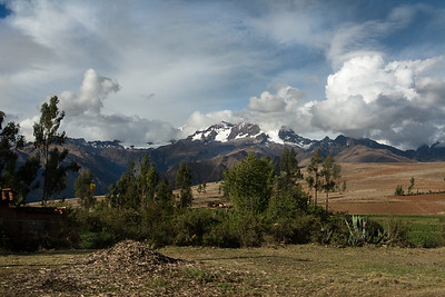 Riding the Peru Rail thru the Sacred Valley.