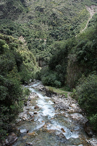 The Salkantay River.