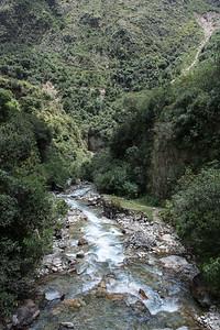 The Salkantay River.