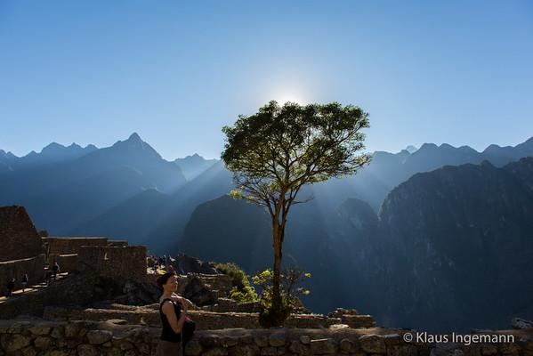 Sunrise at Macchu Pichu