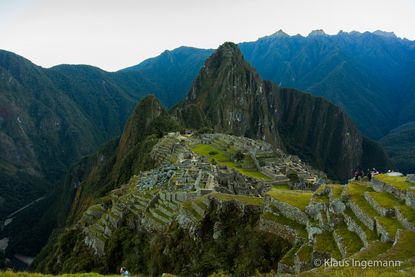 Macchu Pichu from above