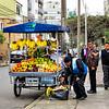 Street vendor in Miraflores