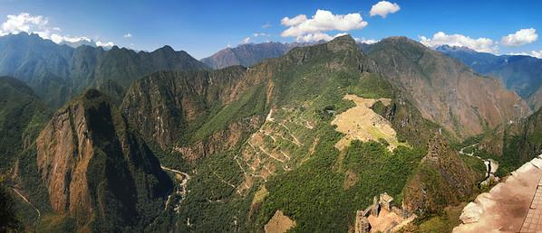 Huana Picchu Pano