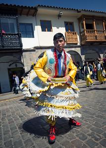 Festival on Plaza de Armas