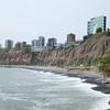 Miraflores: Cliffs along coast