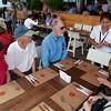 Miraflores: Larcomar: Group at Mangos Restaurant