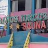 Lima: Turkish bath and sauna sign