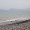 Lima: San Felipe coast: Toward Isla San Lorenzo with surf