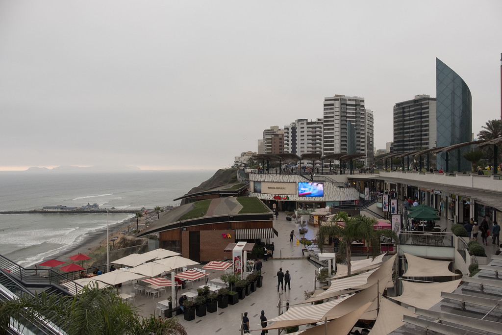 Lima's mainly cloudy- half the year