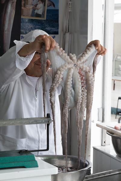 Lima is seafood