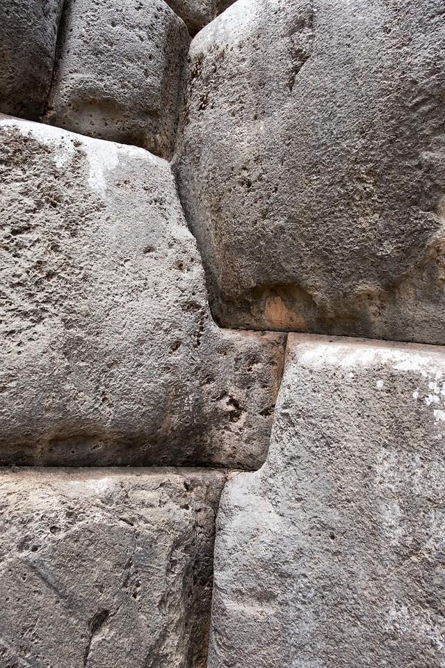 Inca stone detail