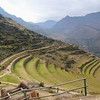 Agricultural terraces at the Pisac ruins