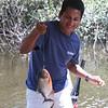 Piranha fishing.