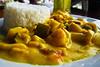Picante de mariscos, parte del menú económico (10 S/.) en el restaurante El Rey II - Av. La Rivera 104 - Huanchaco - La Libertad<br /> <br /> Picante de mariscos (seafood in a spicy sauce), part of the menu (3,7 USD - 2,6 €) @ Restaurante El Rey II - Av. La Rivera 104 - Huanchaco - La Libertad<br /> <br /> Picante de mariscos (zeevruchten in een pittig sausje) als onderdeel van de dagschotel (2,6 €) in Restaurante El Rey II - Av. La Rivera 104 - Huanchaco - La Libertad<br /> <br /> Picante de mariscos (fruits de mer baignant dans une sauce piquante) faisant partie du menu du jour (2,6 €) au Restaurante El Rey II - Av. La Rivera 104 - Huanchaco - La Libertad