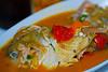 Sudado de pescado (15 S/.) @ Las Brisas del Pacífico - Parque Municipal - Los Órganos - Talara - Piura<br /> <br /> Entire fish in delicious fish soup (5,5 USD - 4 €) @ Las Brisas del Pacífico - Parque Municipal - Los Órganos - Talara - Piura<br /> <br /> Bouillabaisse péruvienne (4 €) - Las Brisas del Pacífico - Parque Municipal - Los Órganos - Talara - Piura<br /> <br /> Peruviaanse bouillabaisse (4 €) - Las Brisas del Pacífico - Parque Municipal - Los Órganos - Talara - Piura