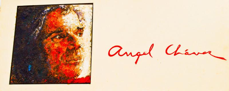 Ángel Chávez (Trujillo 1928 - Lima 1995)<br /> Museo de Arte Moderno Gerardo Chávez - Trujillo - La Libertad - Perú