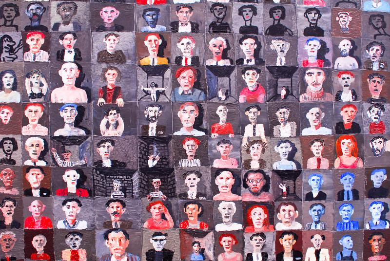 """Ignacio Iturria (Uruguay): """"Los Amigos - 2002""""<br /> Museo de Arte Moderno Gerardo Chávez - Trujillo - La Libertad - Perú"""