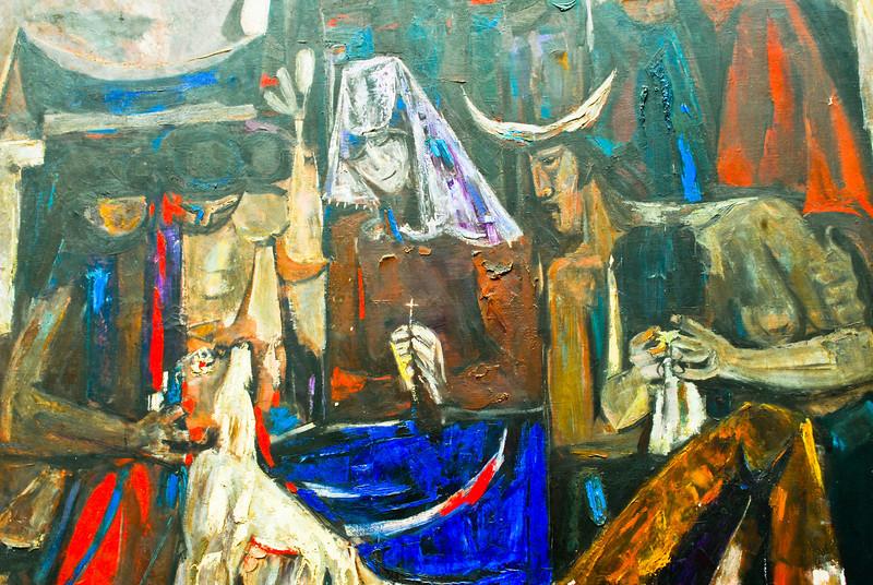 """Ángel Chávez (Perú): """"El Sueño del Matador""""<br /> Museo de Arte Moderno Gerardo Chávez - Trujillo - La Libertad - Perú"""