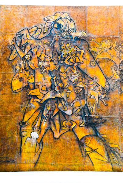 """Gerardo Chávez (Perú - °1937): """"El Otro Ekeko""""<br /> Museo de Arte Moderno Gerardo Chávez - Trujillo - La Libertad - Perú"""