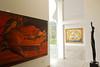 Left/Izquierda/Links/A gauche: Carlos Colombino (Paraguay)<br /> Right/Derecha/Rechts/A droite: Amelia Weiss (Perú)<br /> Museo de Arte Moderno Gerardo Chávez - Trujillo - La Libertad - Perú