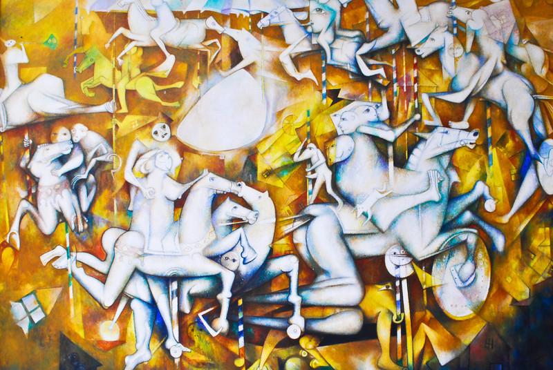 Gerardo Chávez (Perú - °1937)<br /> Museo de Arte Moderno Gerardo Chávez - Trujillo - La Libertad - Perú